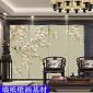 无缝丝绸壁布 个性弱溶剂墙纸壁画基材 数码喷绘